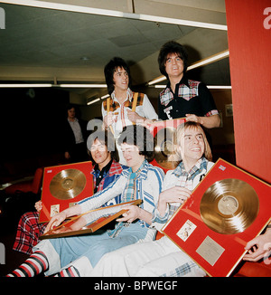 BAY CITY ROLLERS POP GROUP (1975) - Stock Photo