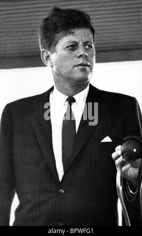 JOHN F. KENNEDY PRESIDENT OF THE UNITED STATES 01 June 1963 - Stock Photo