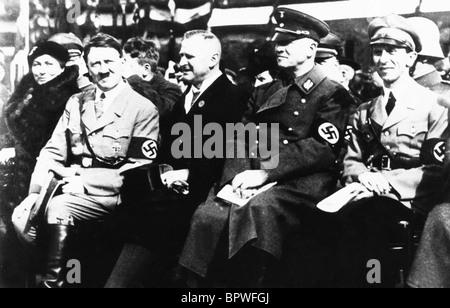 ADOLF HITLER & JOSEPH GOEBBELS NAZI LEADER 30 May 1933 - Stock Photo