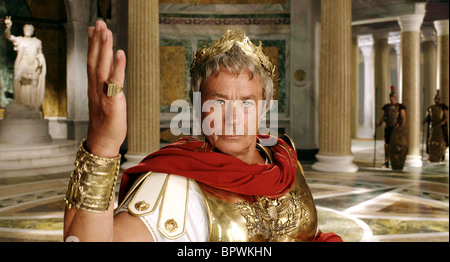 ALAIN DELON ASTERIX AT THE OLYMPIC GAMES (2008) - Stock Photo