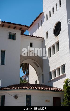 Santa Barbara Courthouse - Stock Photo