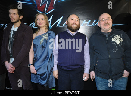 Voitinsky's new sci-fi action film Black Arrow receives its Russian premiere - Stock Photo
