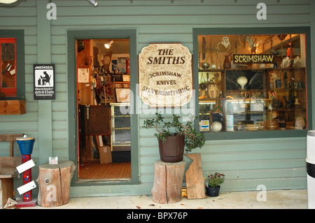 Along the Great Smoky Arts & Crafts Community, 8 mile loop, Gatlinburg, Tennessee - Stock Photo