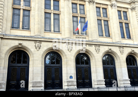 Sorbonne University, Paris, France - Stock Photo