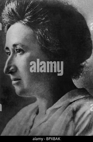 Rosa Luxemburg (1871-1919) - Stock Photo