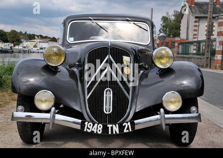 Vintage car citroen traction avant in wochern saarland for Daylight motors beaumont tx