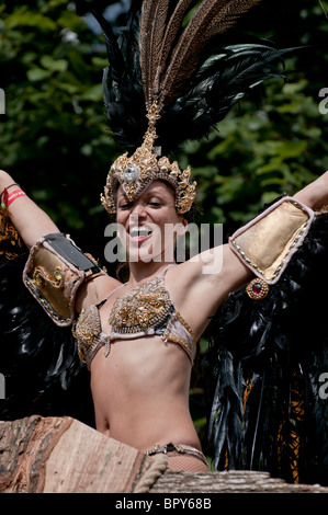 Notting Hill Carnival 2010 - Stock Photo