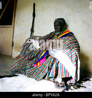 Originally Gambaga has been created in 1900. The theory goes that a woman and her son who were on their way to the - Stock Photo