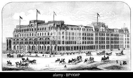 Grand Union Hotel (Saratoga Springs, New York) - Stock Photo