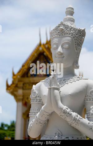 Southeast Thailand,Island of Ko Samui (aka Koh Samui). Khunaram Temple. - Stock Photo