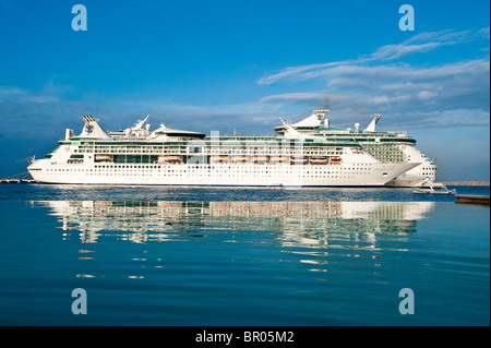 Royal Caribbean Cruise Ships Cozumel Mexico Brilliance Of The Seas Stock Phot