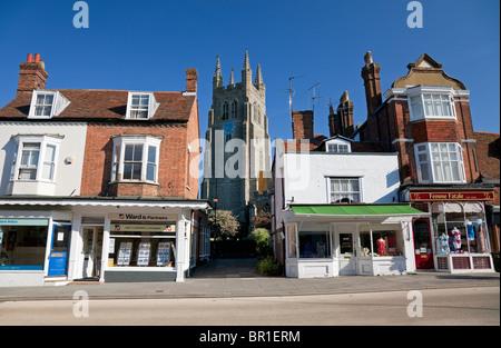 England Kent Tenterden High Street - Stock Photo