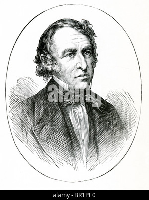 Zachary Taylor (1784-1850) was the 12th President of the United States. He had nickname 'Old Rough and Ready.' - Stock Photo