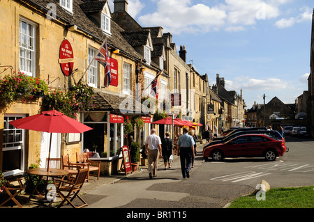 Stow on the Wold The Cotswolds - Stock Photo