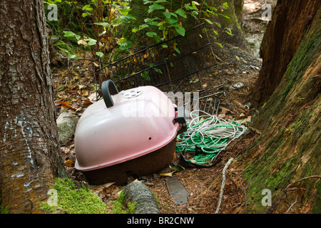 Conservation - Poor 'Leave No Trace' habits - Stock Photo