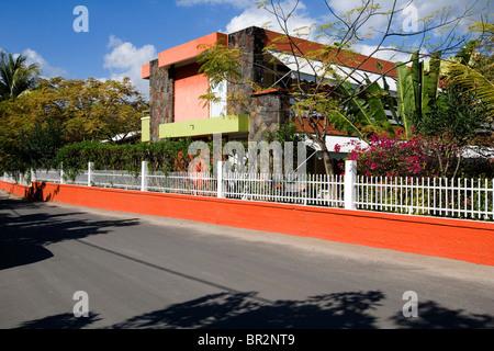 Tamarin Hotel, Tamarin, Mauritius - Stock Photo