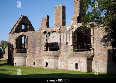Earls Palace, Kirkwall in Ornkey Island, Scotland - Stock Photo