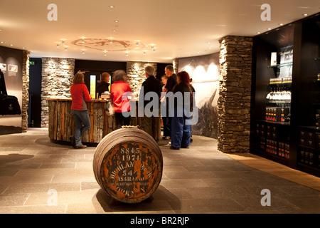 Highland Park; Distillery; Kirkwall; Orkney; Islands; Scotland - Stock Photo