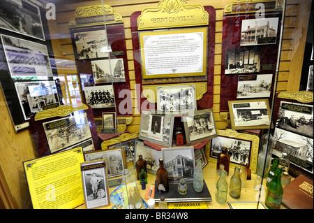 Museum in Wal-Mart Visitors Center Bentonville Arkansas - Stock Photo