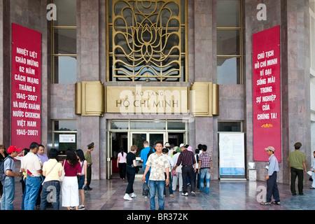 Ho Chi Minh Museum Hanoi north Vietnam - Stock Photo