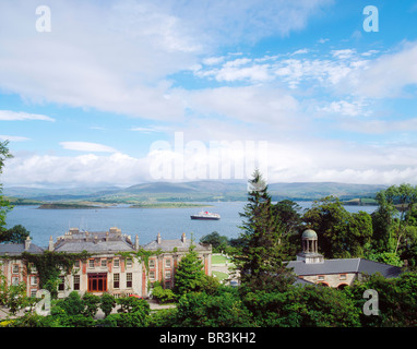 Bantry, Co Cork, Ireland, Bantry House, Stairway To The Sky - Stock Photo