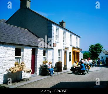 Bunratty, Co Clare, Ireland, Bunratty Folk Park - Stock Photo