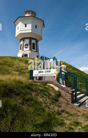 Water tower on Langeoog, Germany - Stock Photo