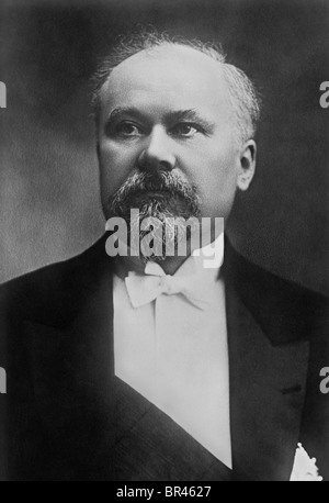 Raymond Poincaré (1860 - 1934) - French Prime Minister 1912 - 1913, 1922 - 1924 + 1926 - 1929, and French President - Stock Photo