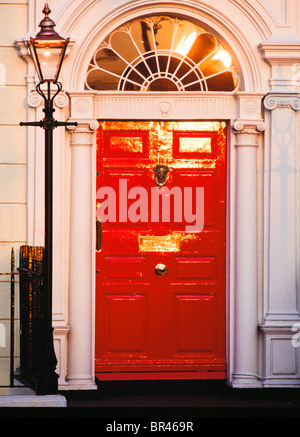 Dublin, Co Dublin, Ireland, Georgian Door - Stock Photo