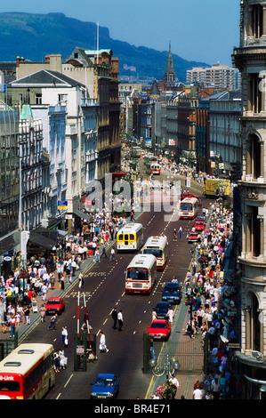 Belfast, Co Antrim, Northern Ireland, Donegal Place During The Troubles - Stock Photo