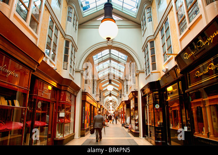Europe, United Kingdom, England, London, Mayfair district, Burlington Arcade - Stock Photo