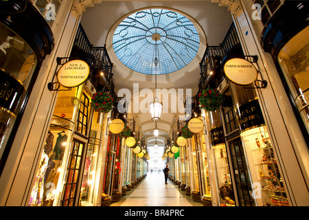 Europe, United Kingdom, England, London, Mayfair district, Piccadilly Arcade - Stock Photo