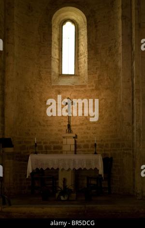 altar bizantine church in Italy - Stock Photo