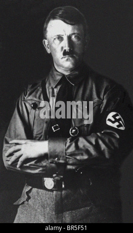 Adolf Hitler, military and political leader of Germany 1933 - 1945, launched World War Two - Stock Photo