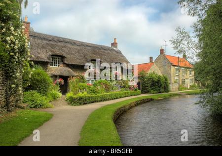 Thornton-le-dale, North Yorkshire - Stock Photo