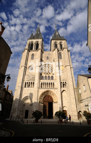 france, loire valley, blois, st nicolas church - Stock Photo