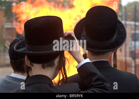 Hasidic Jewish Boys In Stamford Hill The Largest Hasidic