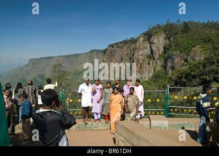 Pillar Rocks in Kodaikanal, Tamil Nadu. - Stock Photo