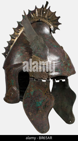 A Chalcidian Helmet The So Called Quot Winged Griffin Crest