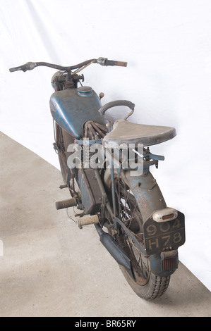 VEHICULES MILITAIRES, Moto ARDIE VF 125 cc, Marque allemande fondée à Nuremberg en 1919 par Arno Dietrich, elle - Stock Photo