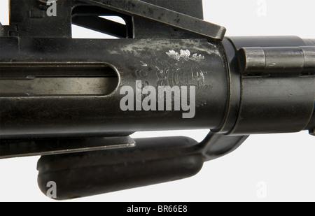 ARMES A FEU, Mitrailleuse allemande MG 13 contrat portugais, calibre 7,92 x 57, numéro a435. Arme dans sa finition - Stock Photo