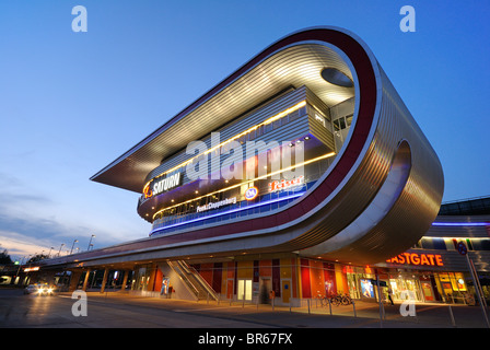 Eastgate, one of the largest shopping and recreation centres in Berlin and eastern Germany, in Marzahn, Berlin, - Stock Photo