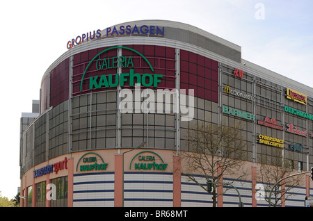 Gropius Passagen, largest shopping centre of Berlin, Gropiusstadt, satellite town, Berlin Neukoelln, Berlin, Germany, - Stock Photo