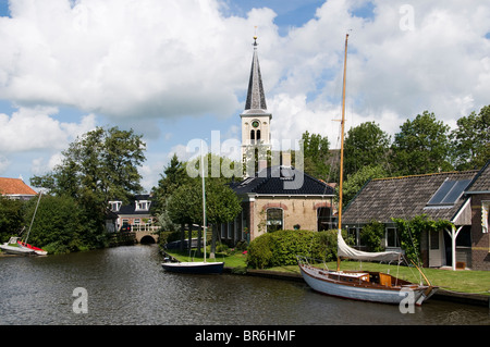 Oosthem near IJlst  Sneek Friesland Netherlands Stock Photo