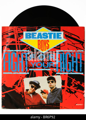 Beastie Boys Fight for your Right single - Stock Photo