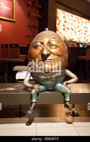 Humpty Dumpty model, the Venetian Hotel, Las Vegas USA - Stock Photo