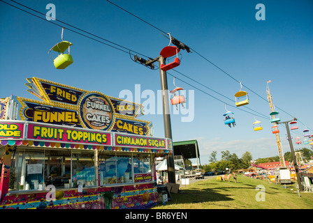 The Southern Country Fair in Cummings Georgia USA. - Stock Photo