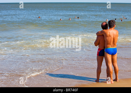 Gay part of Rehoboth Beach in Deleware - Stock Photo