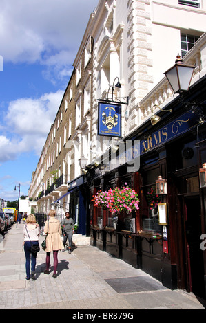 The Plumbers Arms, Lower Belgrave Street, Belgravia, City of Westminster, Greater London, England, United Kingdom - Stock Photo