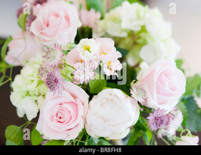 A Bunch of Flowers in a Vase - Stock Photo
